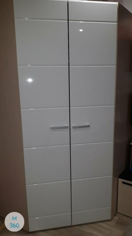 Шкаф в ванную с корзиной Бергамо Арт 007201413