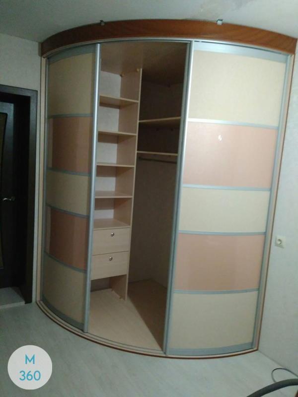 Выпуклый радиусный шкаф Мэдисон Арт 007277378