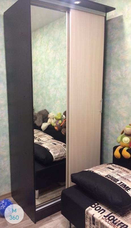 Шкаф в ванную с корзиной Альбукерке Арт 007593659
