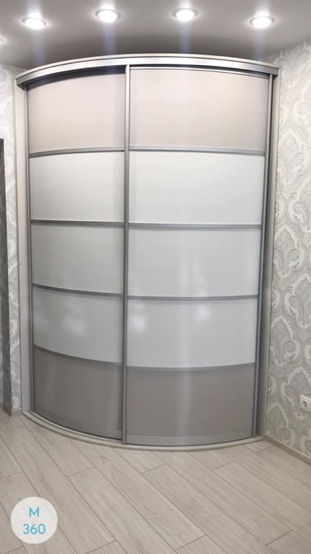 Выпуклый радиусный шкаф Андреа Арт 007594078