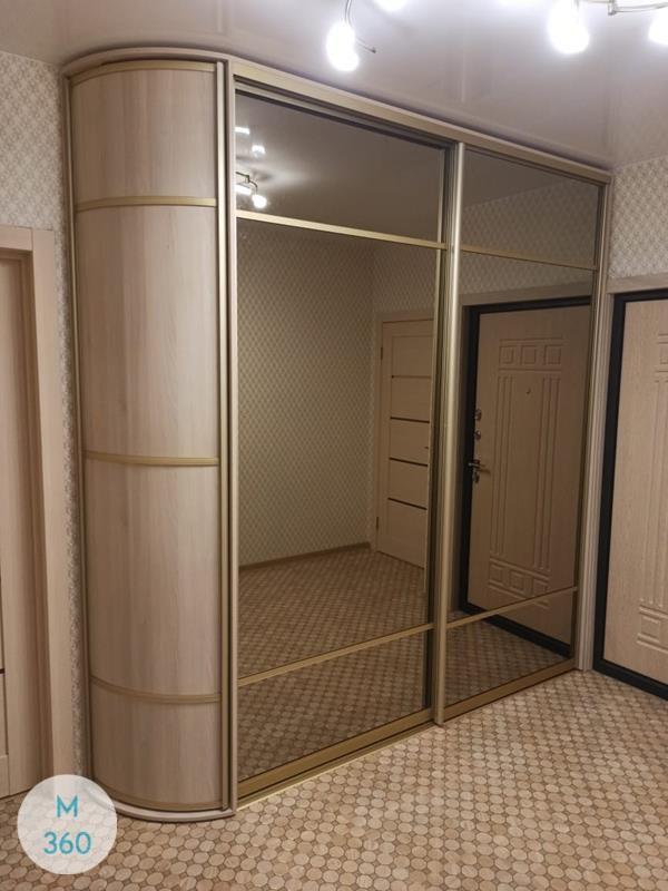 Шкаф купе с двумя зеркалами Помпано-Бич Арт 007684569