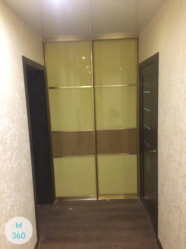 Зеленый шкаф купе Фиджи Арт 008079061