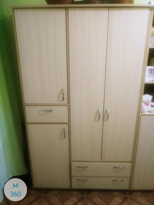 Офисный шкаф для одежды Миннесота Арт 008287650