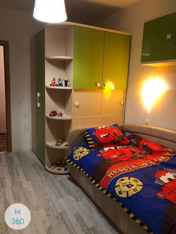 Шкаф в ванную с корзиной Афины Арт 008414506