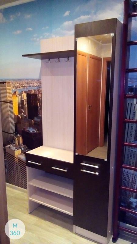 Узкий гардеробный шкаф Геликония Арт 008667929