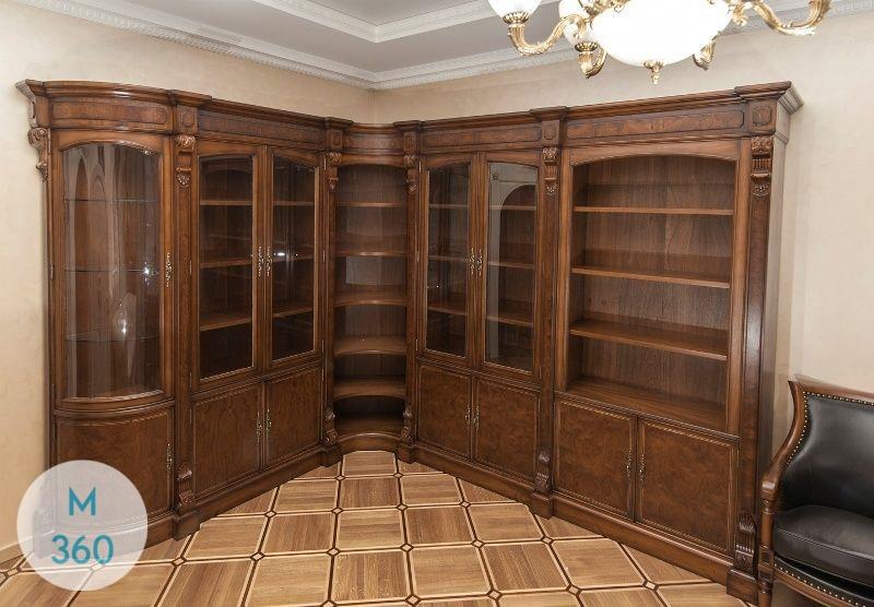 Угловой книжный шкаф Таранто Арт 008700049