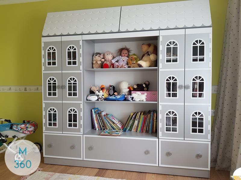 Шкаф для игрушек в детскую Элоиса Арт 008743635