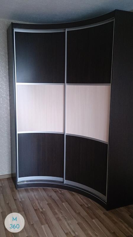 Радиусный вогнутый шкаф Бонн Арт 008920047