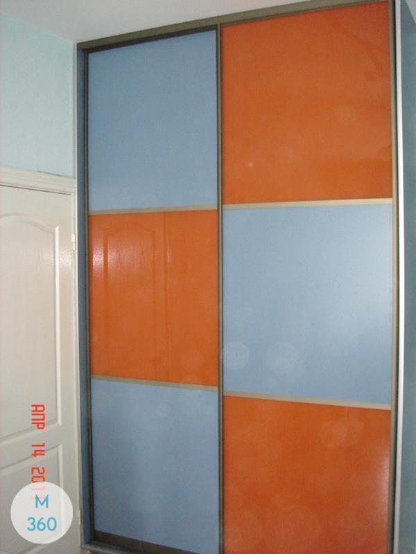 Оранжевый шкаф купе Феникс Арт 008964177