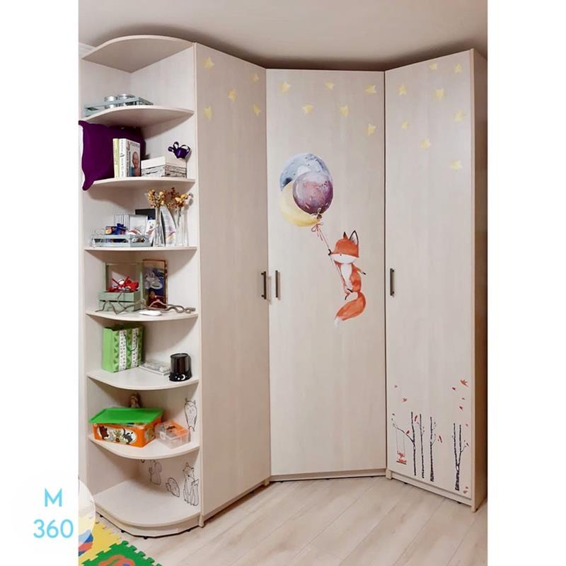 Радиусный вогнутый шкаф Уэст-Валли-Сити Арт 008970336