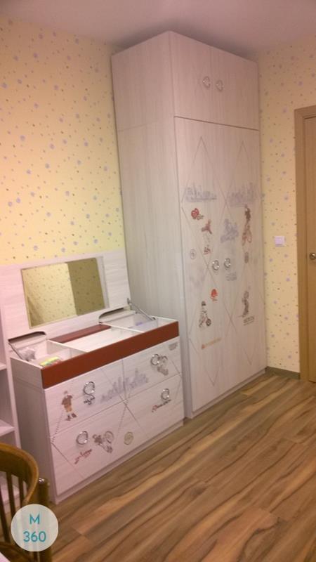 Шкаф с сидением Киргизия Арт 009001631