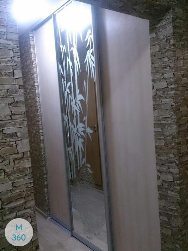 Шкаф купы с пескоструйным рисунком Айдахо Арт 009512434