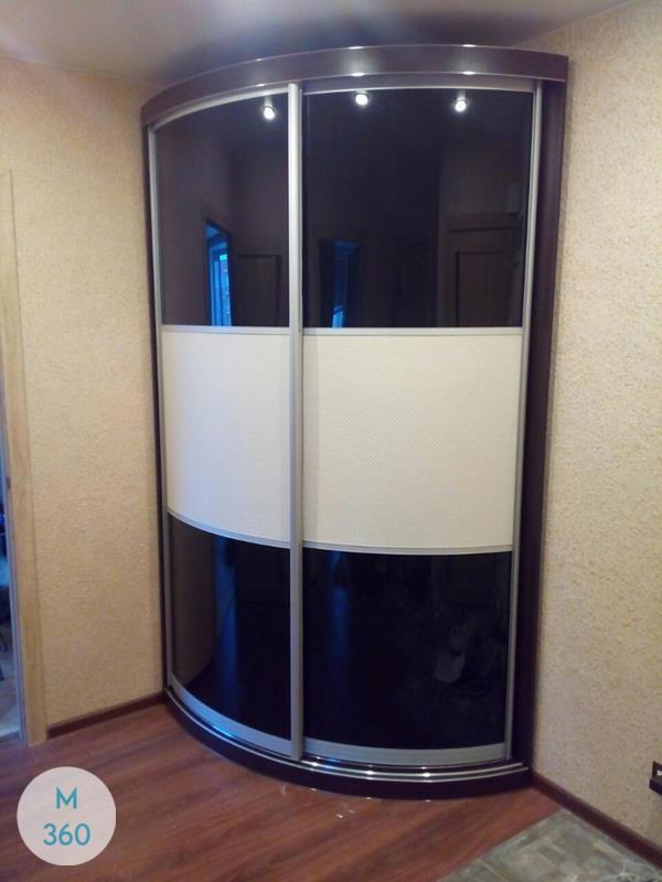 Выпуклый радиусный шкаф Глориоза Арт 009836880