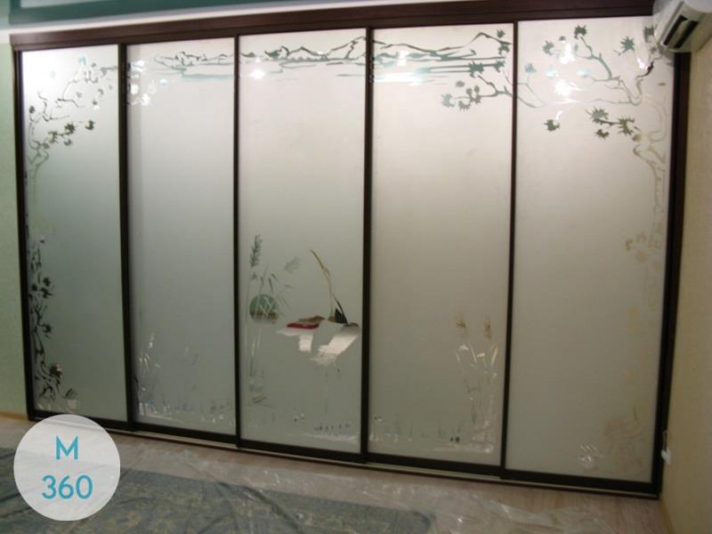 Пятидверный шкаф купе Мальме Арт 009850481