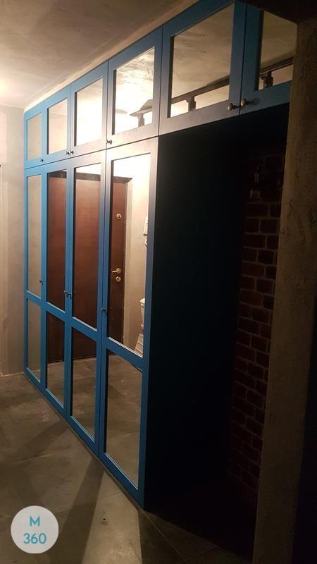 Синий распашной шкаф Энерджи Арт 009860908
