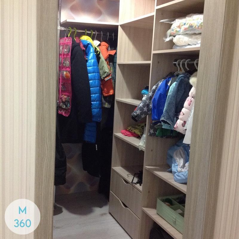 Открытая гардеробная система Люкс Арт 009870086