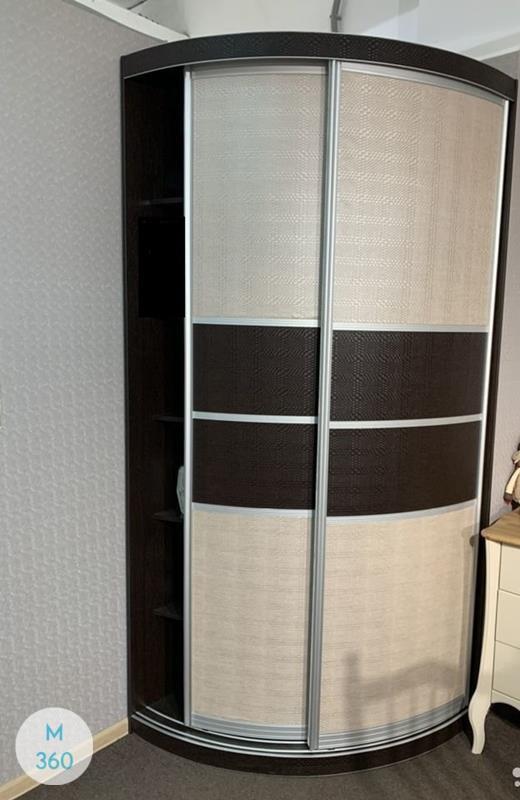 Выпуклый радиусный шкаф Равенна Арт 009934724